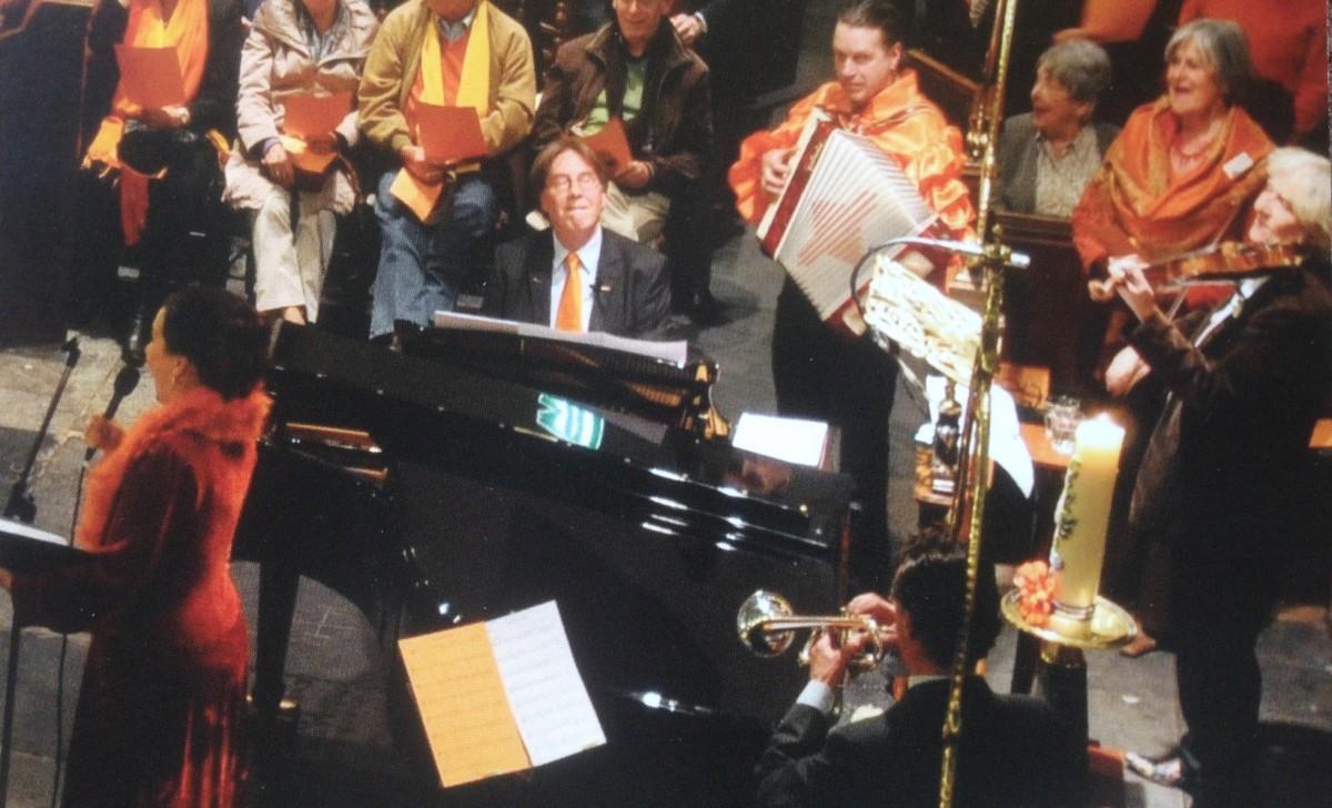 34e Oranjeconcert: Jaap Stork (piano);   afgelast