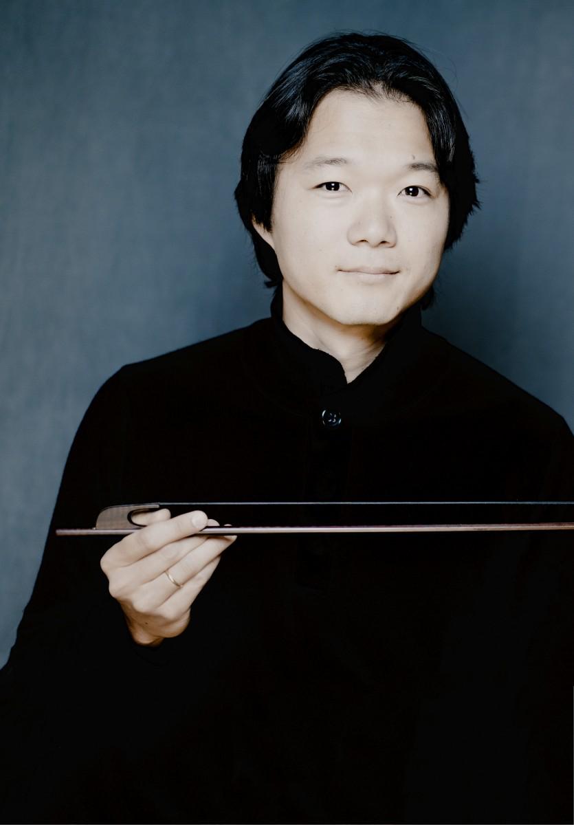 Shunske Sato (viool) en Diego Ares (klavecimbel)